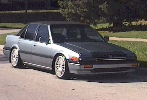 Paulie's '86 Accord